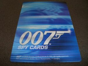 007 Spy Cards  30 cards Common  New  Listed - <span itemprop='availableAtOrFrom'>Rawtenstall, Lancashire, United Kingdom</span> - 007 Spy Cards  30 cards Common  New  Listed - Rawtenstall, Lancashire, United Kingdom