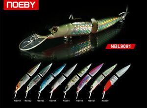 Noeby-leurre-peche-articule-mer-riviere-imitation-brochet-12cm-15-5g-couleur-007