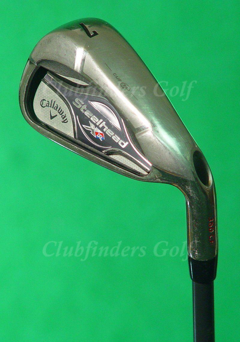 Callaway  Steelhead XR único proyecto de hierro 7 X 5.5 Regular De Grafito  nueva marca