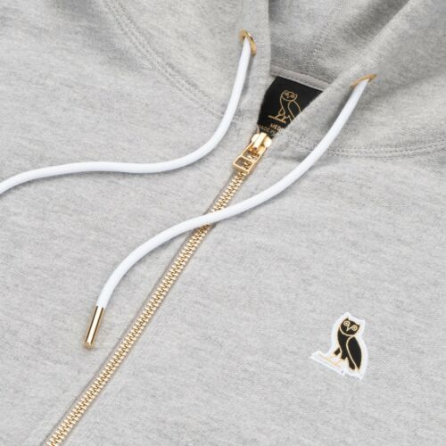Own Grey Patch October's Hoodie Full Zip Very Large New Ovo Hoody Owl Lg Drake aAExzxqH