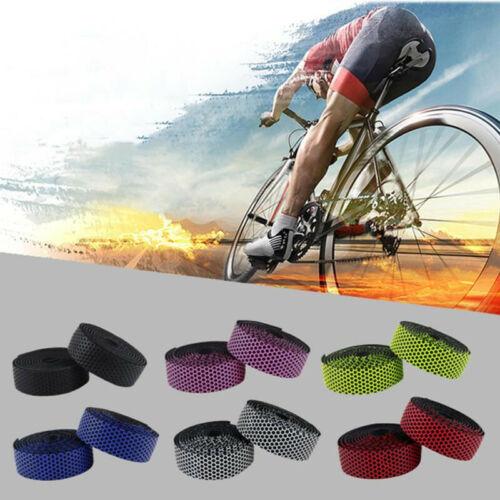 Bar Plug Soft Bicycle Handlebar Tape Shockproof Elastic Road Bike Tape Strap