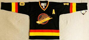 1992 Pavel Bure Vancouver Canucks Black Jersey Size Men's Medium