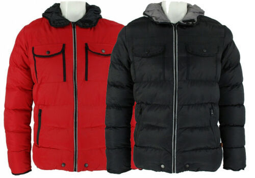 New Mens *Sale RRP £66* Designer Bellfield /'Radon/' Puffa Jacket Warm Winter Coat