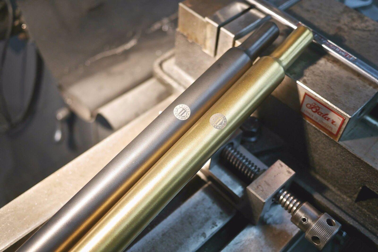 Ti Parts Workshop Titanium Seatpost for Brompton Bicycle 550mm 600mm