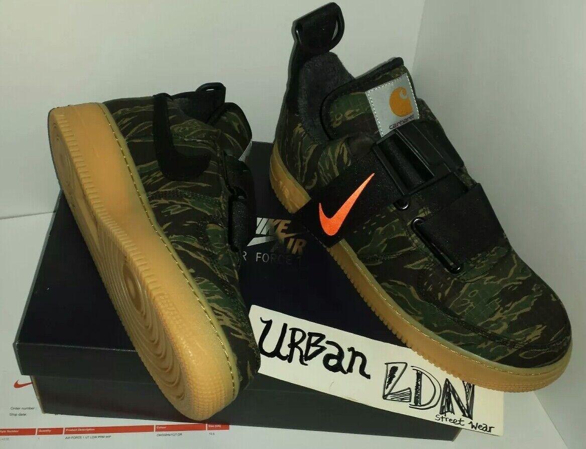 390e05dfac5 X Carhatt Air Force 1 Camo AF1 Low UT UK9.5 EU44.5 US10.5 BNIB Nike  nqnpon3276-Men s Athletic Shoes