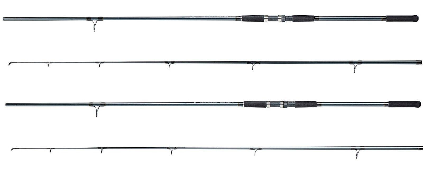 2 X Dam Camaro 12ft 2.5lb 2pc  Carp Rods Fishing