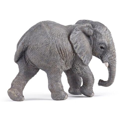 Papo Animaux Sauvages Uni jeune éléphant d/'Afrique 50169 NEUF