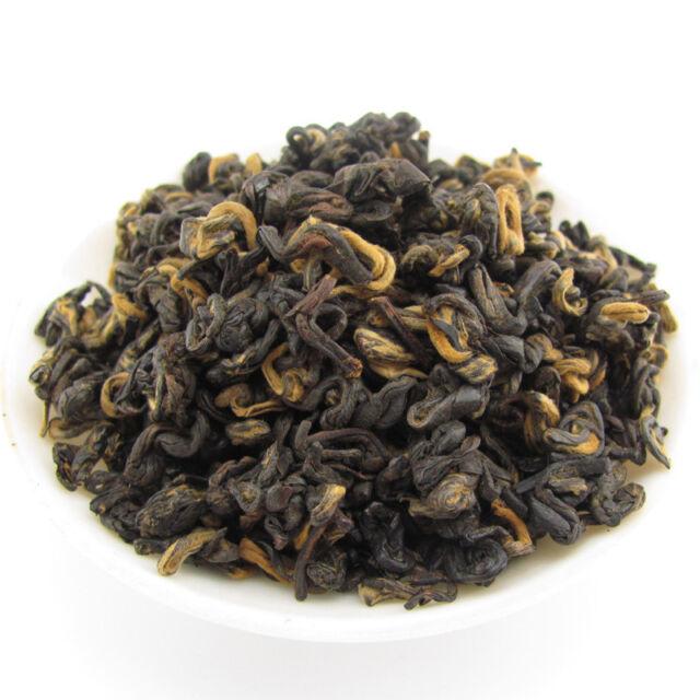 Golden Spiral Dian Hong Black Tea Yunnan Red Tea T165 100g Sweet Honey Taste