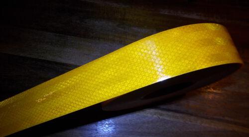 Konturmarkierung Reflektorfolie Gelb Selbstklebend Meterware 2,95//m