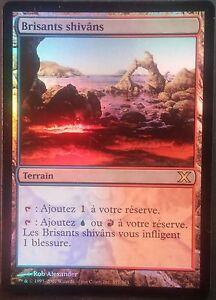 Bisants-Shivans-VF-PREMIUM-FOIL-French-X-Tenth-Shivan-Reef-Magic-mtg