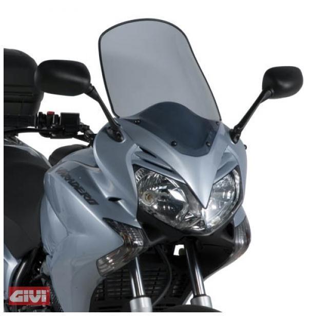 New Givi Spoiler Plate d311s Tinted for Honda XL 125 V Varadero 07-14
