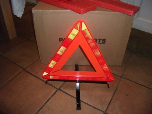 2 X Large Warning Triangle Breakdown Safety//Hazard// caravan//daf volvo iveco ADR