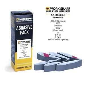 Work Sharp Ken Onion Blade Grinding Attachment Belt Kit SA0003568 1800 Grit