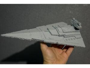 STAR WARS Venator Imperial Star Destroyer Starship 3D Printed Model