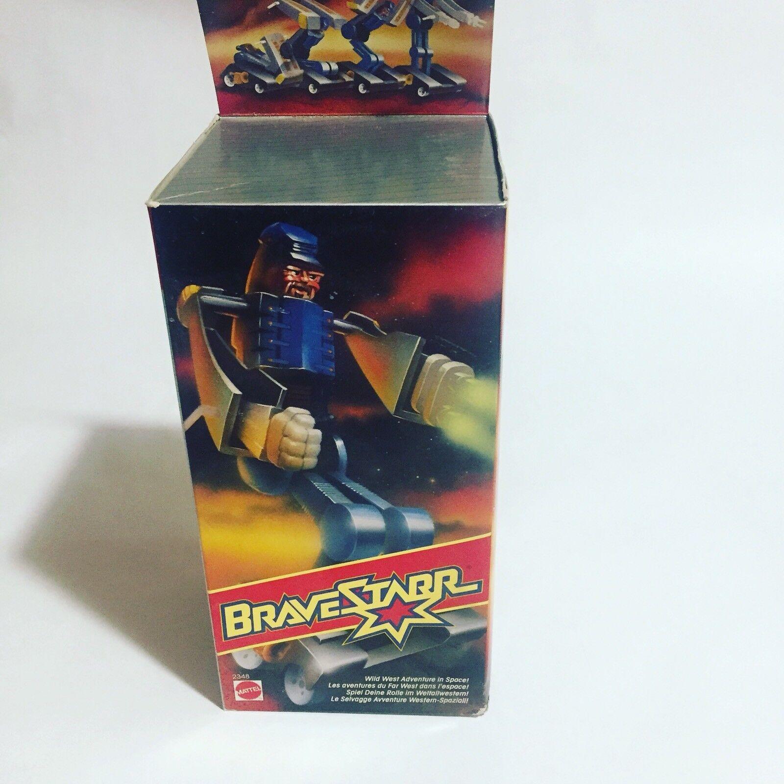 Bravestarr Colborbot Oberst Borbot  Mattel Action Figure  garanti
