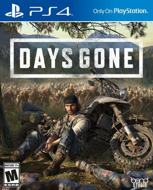 Days Gone (PlayStation 4, 2019) Brand New Sealed