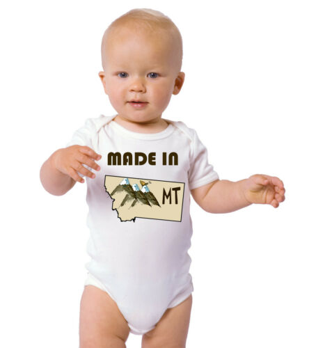 Made In Montana Cotton Baby Bodysuit One Piece