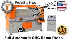 New Cjrtec 40 Ton Receding Head Press Cnc Automatic Die Cutting Machine