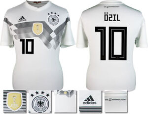 reputable site 2b192 77949 Details about OZIL 10 - GERMANY HOME 2018 WORLD CUP ADIDAS SHIRT SS = ADULTS