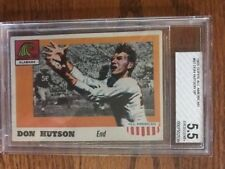 9feaba09e 1955 Topps All American Football 97 DON HUTSON BVG 5.5 Alabama Crimson Tide  Card