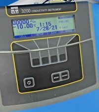 Ysi 3200 Digital Bench Model Conductivity Meter 3200 115v With Power Adapter