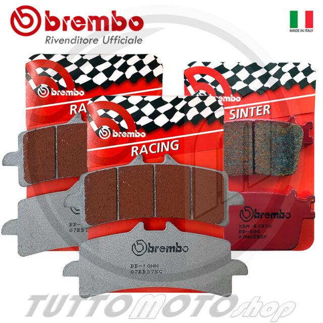 PASTIGLIE FRENO BREMBO RACING SUZUKI GSX-R 1000 2012 2013 2014 2015 2016 GSXR