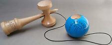 Qualità BLU IN LEGNO KENDAMA del faggio concorrenza Giocattolo in legno finitura Luccicanti