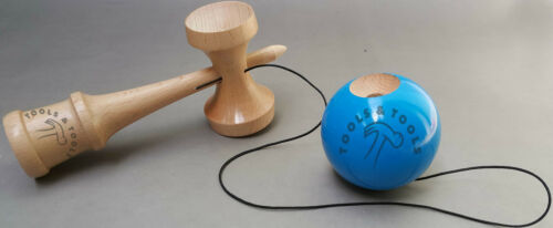 Quality Blue Wooden Kendama Beech Wood Competition Wood Toy Glistening Finish
