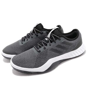 low priced 02935 ebd02 Image is loading adidas-CrazyTrain-LT-M-Grey-Black-Men-Cross-