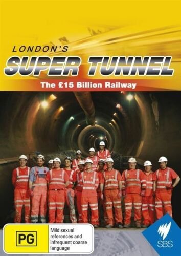 1 of 1 - London's Super Tunnel The 15 Billion Pound Railway As New  Reg 4 Free Post