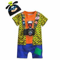 Disney Store Parks Goofy Baby Costume Outfit & Hat Boys 3 6 9 12 18 24 Months