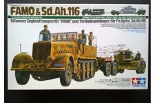 "TAMIYA 35246 1/35 German ""FAMO"" & Tank Transport"