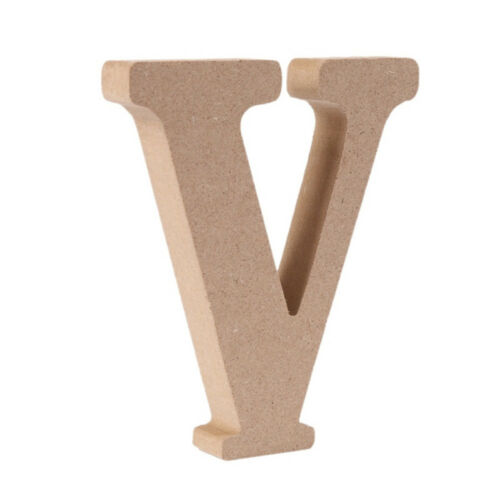 Wooden English Letters Shape Wedding Birthday Home Decor Ornaments Supply Craft