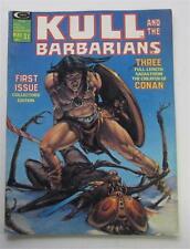 KULL AND THE BARBARIANS  #1 MAY 1975 ROY KRENKEL NEAL ADAMS GIL KANE WALLY WOOD