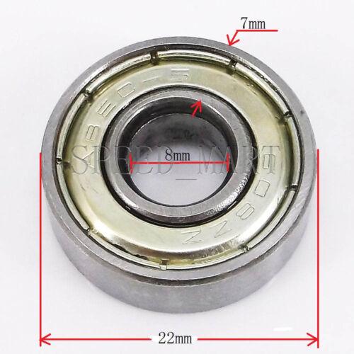 Getech state Ball Bearings 608ZZ Skateboard //inline for 3D Printer 8mm*22mm*7mm