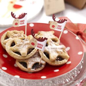 Rocking Rudolph Natale Mince Pie prelievi/Natale CANAPE BASTONI-FULL RANGE IN NEGOZIO!  </span>