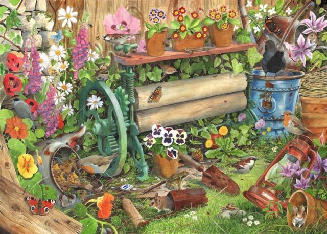 La maison de Puzzles - 1000 Pièces Jigsaw Puzzle-Robin 's Nest Oiseaux & Wildlife