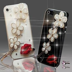 NUEVO-3D-BRILLANTE-LUJOSO-FLOR-DIAMANTES-FUNDA-4-SAMSUNG-iPHONE-SONY-HTC