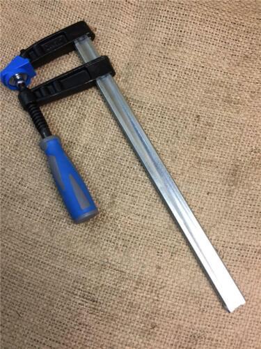 "CLEARANCE LOT633820 HEAVY DUTY F CLAMP 300 mm 12/"" X 80 mm DEEP SLIDING JAW CRAMP"