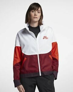 af8153146778 NIke Air Women s Woven Jacket AH7630 100 Size Small Medium