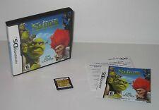 Nintendo DS Shrek Forever After USED Cartridge Case Manual Works/Saves Great