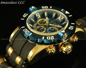 Invicta-Men-039-s-Pro-Diver-Scuba-3-0-Chronograph-18K-Gold-Plated-Stainless-St-Watch