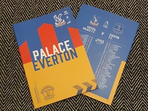 Crystal-Palace-v-Everton-PREMIER-LEAGUE-Match-Programme-26-9-20-READY-TO-POST