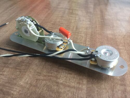 Fender Telecaster Reverse 4 Way Wiring Harness 250k CTS Pots 4 Way Switch