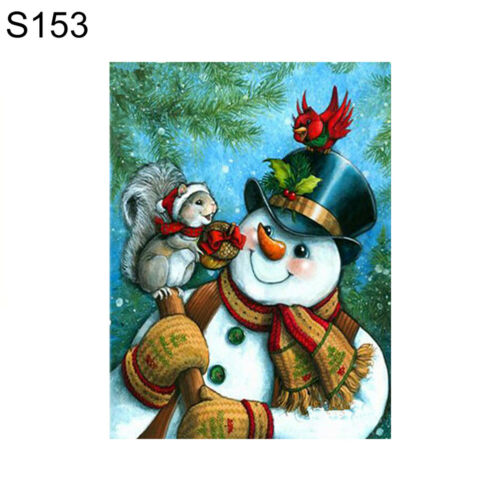 HB AG/_ Christmas Snowman Partial Diamond Painting Cross Stitch Embroidery W FT