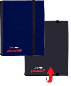Blue-Ultra-Pro-Binder-Collector-Card-Storage-Album-Folder-20-x-4-Pocket-Pages