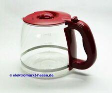 Russell Hobbs Glaskanne 14419/RH für Kaffeeautomat Edelstahl/Himbeerfarben