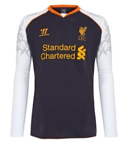 Liverpool 2012-13 L Sleeved Third jersey (L) BRAND NEW W TAGS