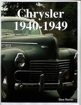 Chrysler The Golden Age 19401949, Brand New, Free P&P in the UK