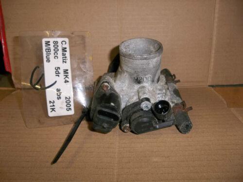 DAEWOO MATIZ 2005-2008 MK4 Throttle body CHEVROLET